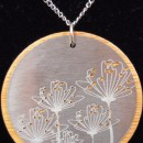 Amy Bengtson Necklace with Metal Disk