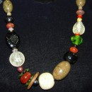 Teresa Goodall Multi-colored Beaded Necklace